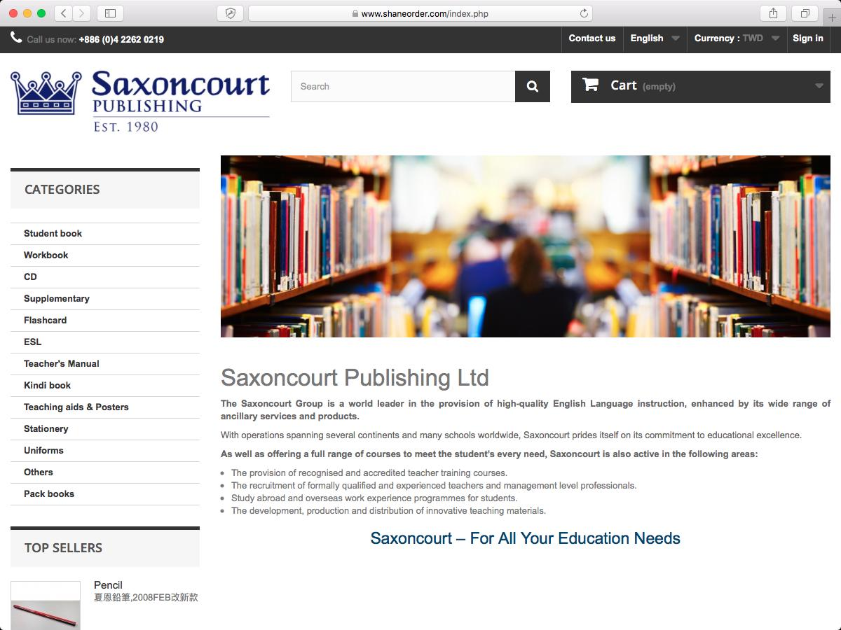 SaxonCourt Publishing